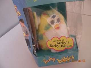 TIGER ELECTRONIC FURBY BABY #70 940 COMES WITH ORIGINAL BOX