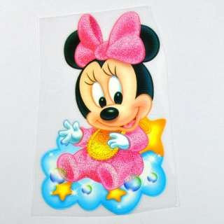 DIY Disney Minnie Mouse iron on Patch Transfer #D1