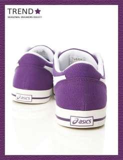 Brand New Asics Aaron CV Purple/White Shoes #34