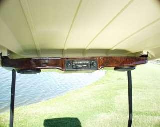 Burled Stereo Console EZGO Club Car Yamaha G14