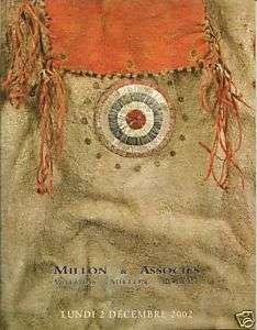 MILLON American Indian Ar Canada Sioux Cheyenne Eskimo  
