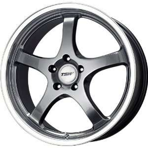 TSW Alloy Wheels Volcano Hyper Black Wheel (15x6.5