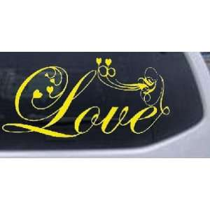 With Hearts Christian Car Window Wall Laptop Decal Sticker Automotive
