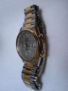 Vintage Seiko Quartz Chronograph 7A38 Watch