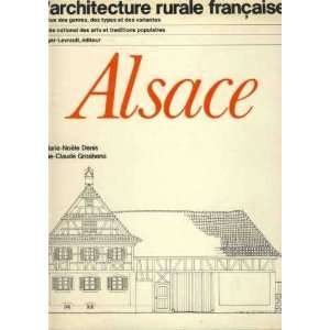 Alsace (LArchitecture rurale francaise) (French Edition