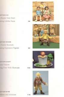 how to make clay characters pdf