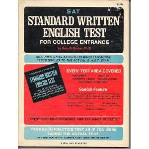 Tests Similar to the Actual S.W.E.T. Exam) Gary R. Gruber Books