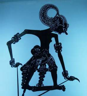 Wayang Kulit Shadow Puppet Schattenspielfigur Jawa cp57