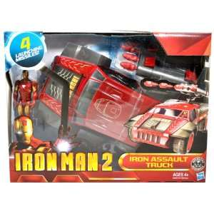 Launcher, 4 Missiles and Iron Man Figure (Vehicle Dimension 10 x 5