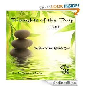 Thoughts of the Day Book II   Insights for the Athletes