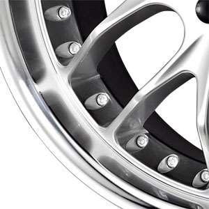 New 18X8.5 5 108 Voxx Hyper Silver Machined Wheel/Rim
