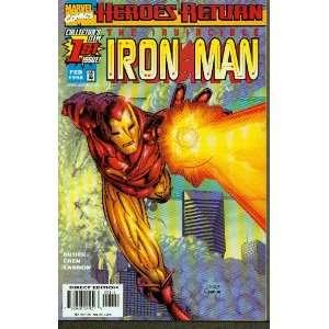Iron Man #1 Looking Forward Books
