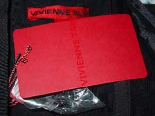 VIVIENNE TAM green sequin black lace dress $580 6 NEW