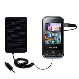Charger for the Samsung Chat 350   uses Gomadic TipExchange Technology