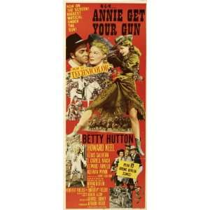 Annie Get Your Gun Poster Chinese 27x40 Betty Hutton