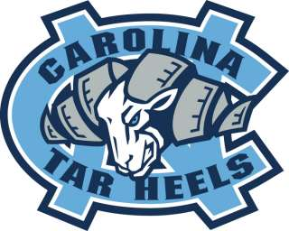 Carolina Tar Heels Vinyl Die cut Decal / Sticker ** 3 Sizes **