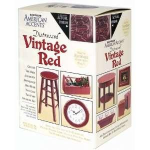 213206 Distressed Quart And Half Pint Kit, Distressed Vintage Red
