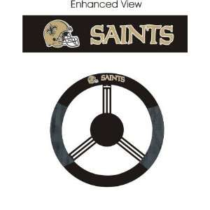 New Orleans Saints Car/Truck/Auto Steering Wheel Cover