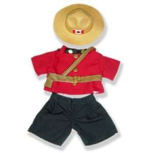 Canadian Police Officer Outfit Teddy Bear Clothes Fit 14