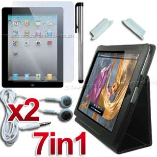 ACCESSORY LEATHER CASE+SCREEN COVER FOR APPLE IPAD 2 3G