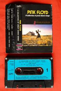 PINK FLOYD COLLECTION OF GREAT 1981 EXYU CASSETTE TAPE