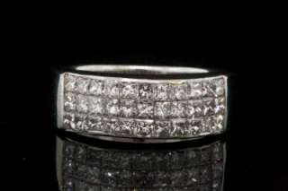 Gorgeous Bez Ambar ©Quad© Channel set Princess cut Diamond Ring in