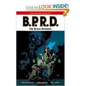 B.P.R.D., Vol. 11 The Black Goddess (9781595824110) Mike