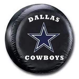 Cowboys NFL Football Sports Team Black Tire Cover