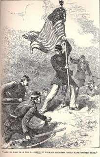 Life 1861 65 CAMP FIRE American HISTORY CIVIL WAR Army Escape Prison