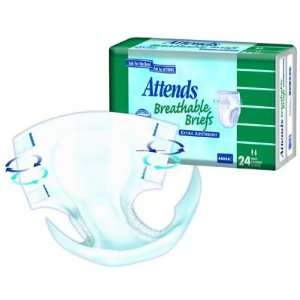 Brief Extra Absorbent Units Per Case 96 Health & Personal Care