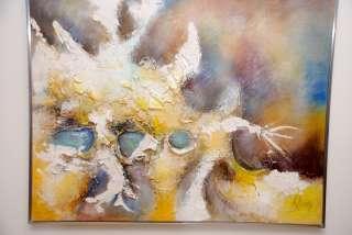 Lee Reynolds Abstract Painting Vanguard Studios Modern