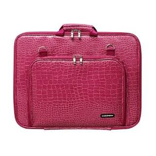CaseCrown Double Memory Foam Case (Alligator Hot Pink) for HP G71