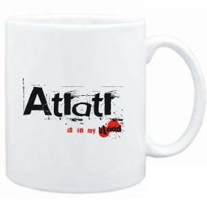 Mug White  Atlatl IS IN MY BLOOD  Sports: Sports