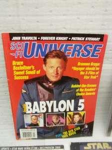 Star Wars universe magazine lot vintage B&W insider lot