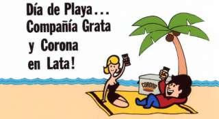 Puerto Rico Cerveza Corona /Cantalicio