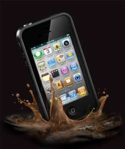 Lifeproof iPhone 4 4S Case Black New In Box Apple Cover Life Proof