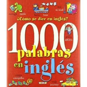 PALABRAS EN INGLES LIBROS PARA TODOS (9788484264927): Todolibro: Books