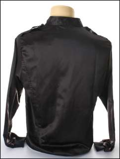 New Black Generation Zipper Rider Shade Jacket Shirt M