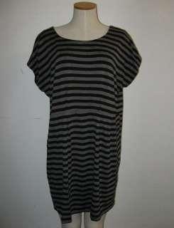 TRANSPARENTE DESIGNER ARTSY JERSEY CAPPED TUNIC DRESS SHIRT BLOUSE