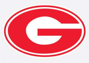 GEORGIA BULLDOGS Red G Logo vinyl decal sticker 5 UGA
