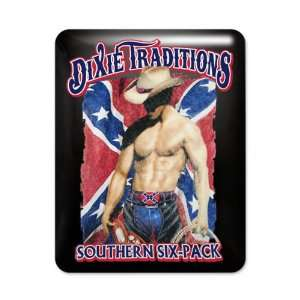 Dixie Traditions Southern Six Pack On Rebel Flag: Everything Else