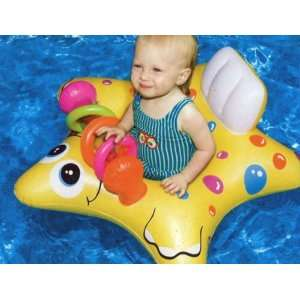 Inflatable Starfish Baby Pool Float Tube Toys & Games