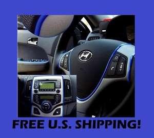 GMC 12 Blue Mirror Seat Gauges Tail Light Trim #