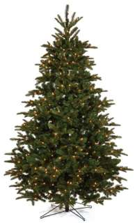 This artificial pre lit Nordman fir Christmas tree is exceptional