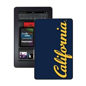 California Golden Bears Kindle Fire Case Electronics