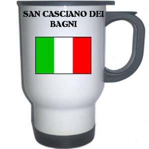 SAN CASCIANO DEI BAGNI White Stainless Steel Mug: Everything Else