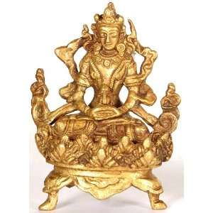 Amitayus   The Buddha of Endless Life   Brass Sculpture