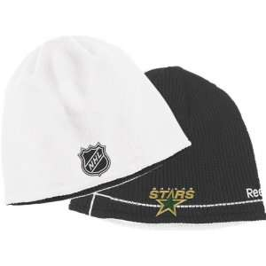 : Dallas Stars Youth Official Reversible Knit Hat: Sports & Outdoors