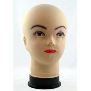 Female Bald Mannequin Wig Display Head Beauty
