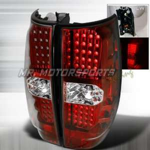 CHEVY TAHOE/DENALI LED TAIL LIGHTS RED Automotive